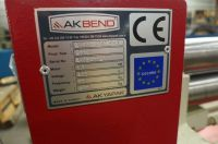 3 Roll Plate Bending Machine Akbend AS 75-12 2017-Photo 2