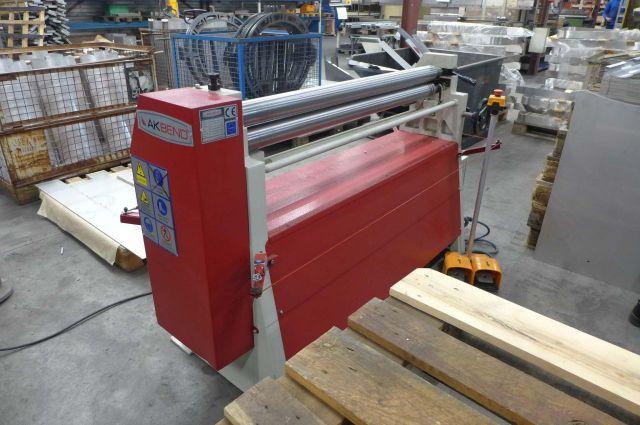 3 Roll Plate Bending Machine Akbend AS 75-12 2017
