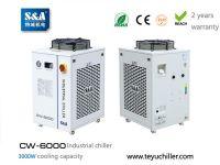 CNC μηχανή φρεζομηχανή Teyu CW-6000