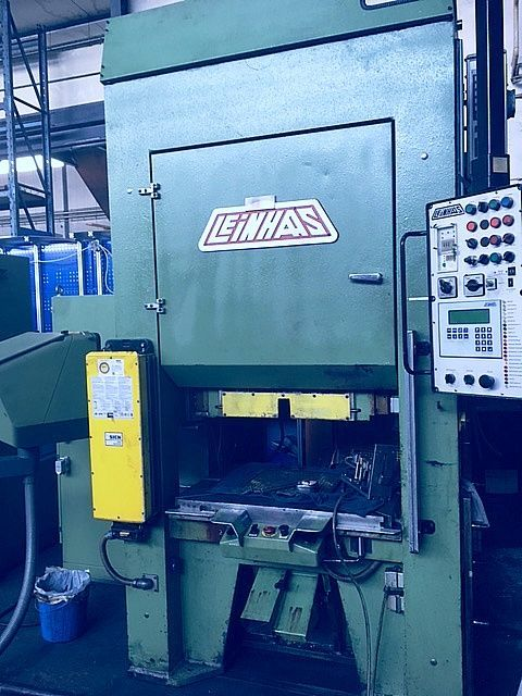 H Frame Hydraulic Press BRUDERER  -  LEINHAAS DDP 2 / R 09 / 80 H 1991
