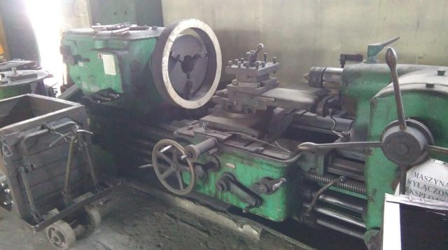 Single Spindle Automatic Lathe POLSKA tokarka Poręba typ -400 1960