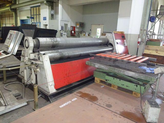 4 Roll Plate Bending Machine DAVI MCB 3028 2007