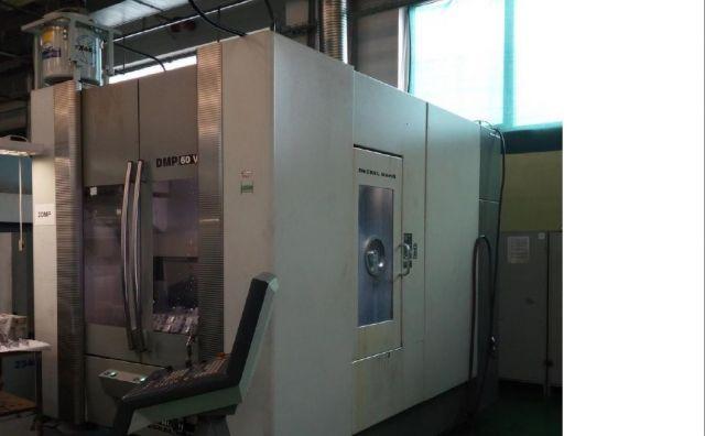 Vertikální obráběcí centrum CNC DECKEL MAHO DMP 60 V linear 2004