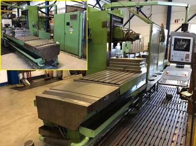 Fresadora CNC CORREA A25/50 (9252316) 1990
