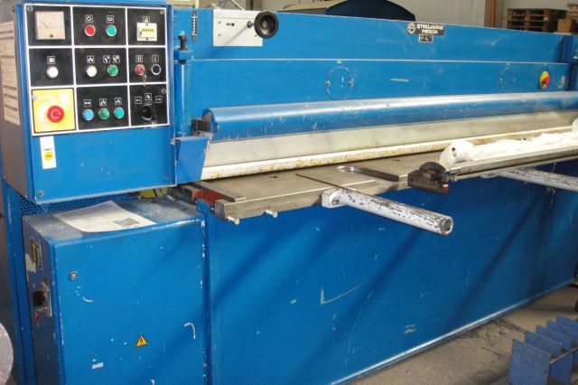 Mechanical Guillotine Shear STROJARNE PIESOK NTC 2500/4 1990