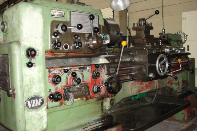 Universal-Drehmaschine VDF Heidenreich  Harbeck 21 RO/1000 1961