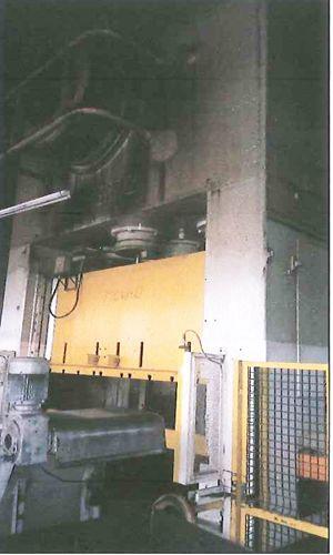 Prasa bramowa SPIERTZ 400 Ton 2000