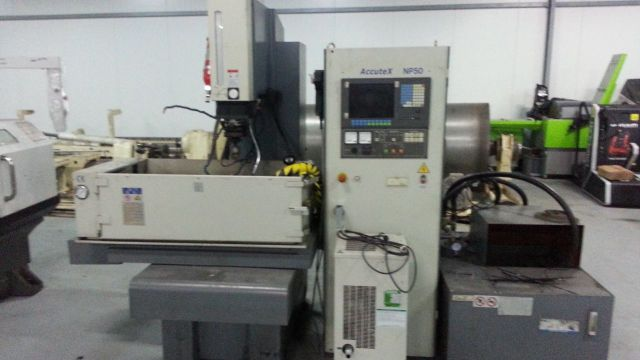 Senkerodiermaschine HAAS ACCUTEX NP 50 CNC 2016