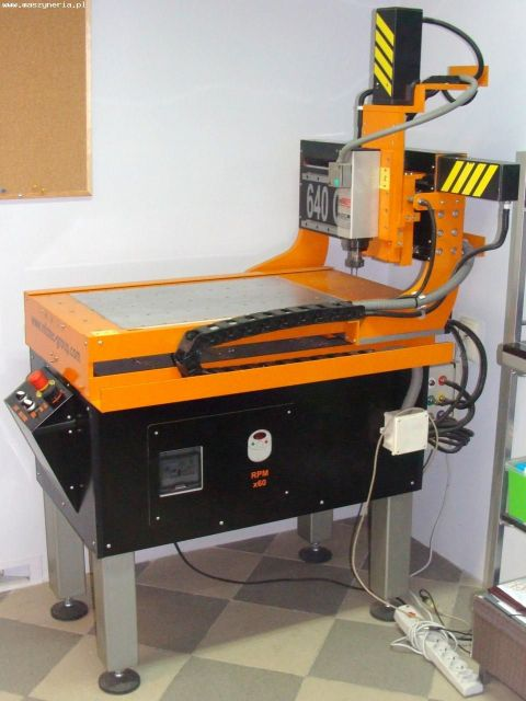 Frezarka CNC INFOTEC 640 G 2007