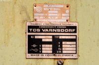 Horizontal Boring Machine TOS VARNSDORF W 75 1986-Photo 17