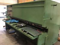Hydraulic Guillotine Shear PROMECAM GH 3000 1980-Photo 2
