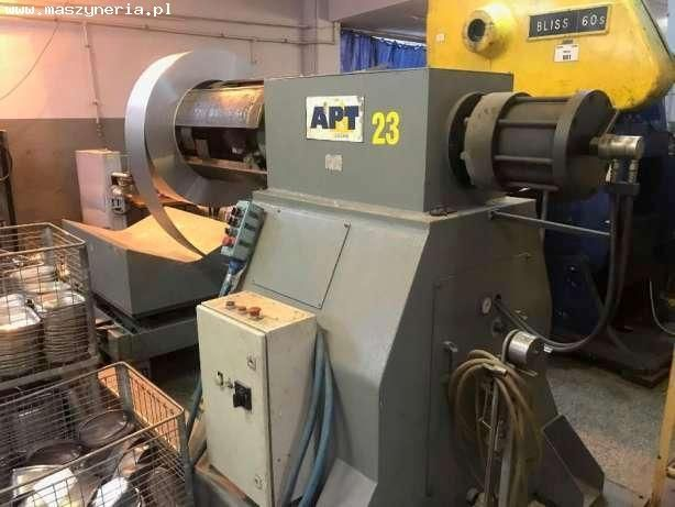 Exzenterpresse LAGAN PRESS AB APT M80BMOH 1994