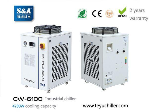 Stempelkompressor Teyu CW-6100 2017