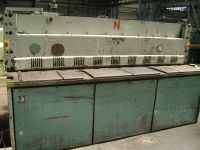 Mechanical Guillotine Shear STROJARNE PIESOK NTE 2500/4B