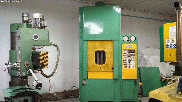 Prasa hydrauliczna bramowa PONAR ŻYWIEC PHM 160 D 1992