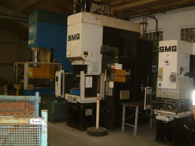 C Frame Hydraulic Press SMG CSZ 100-1000/600 1984