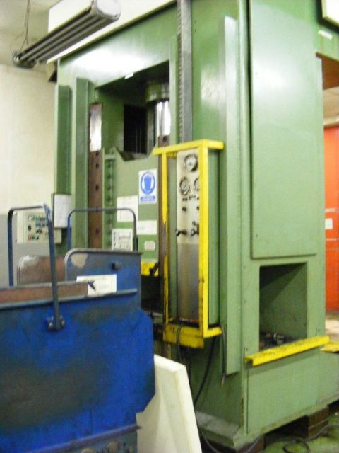 H Frame Hydraulic Press DUNKES HDS 250 1989