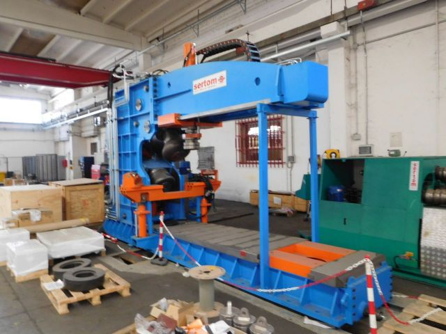 3 Roll Plate Bending Machine SERTOM RIMI 4VR 2014