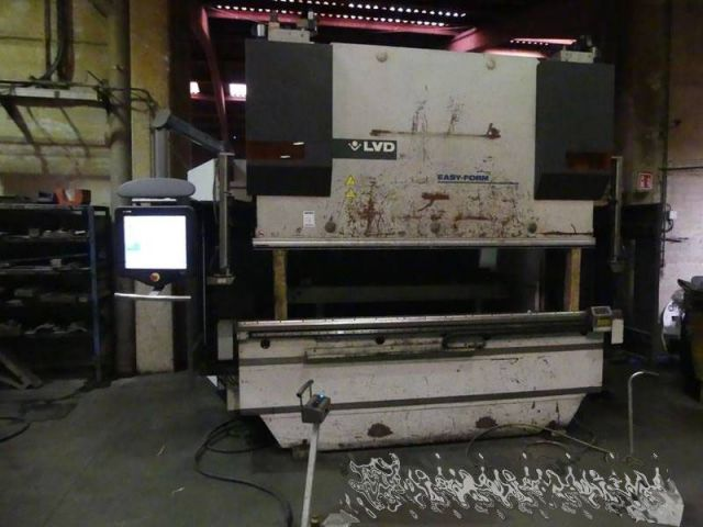 CNC Hydraulic Press Brake LVD PPEB EASY FORM 2010