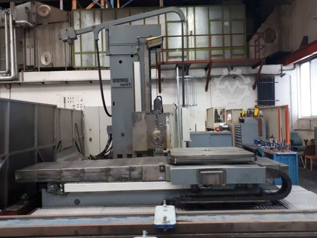 Horizontal Boring Machine WOTAN RAPID 2 2000