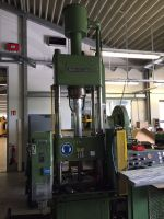 H ram hydraulisk press BRUNNHUBER HSP 50 AZ 5x5