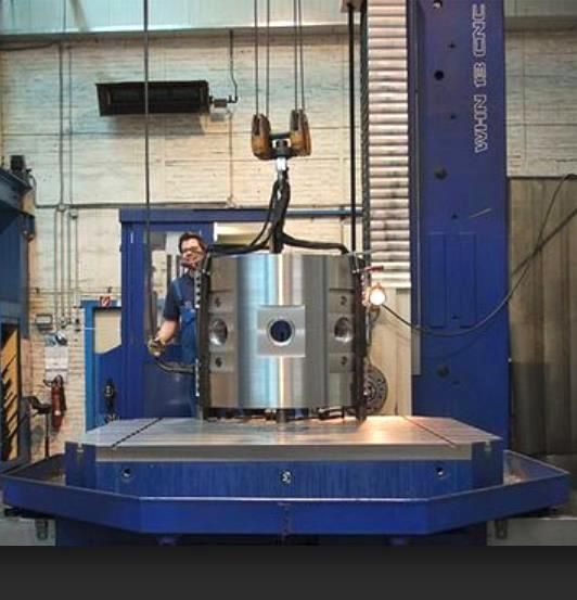 Wytaczarka pozioma Tos  130 CNC  - 40 Ton. 130 -40 Ton. 2007