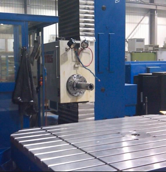 Horizontal Boring Machine TOS 130 cnc - 25 Ton. 2017