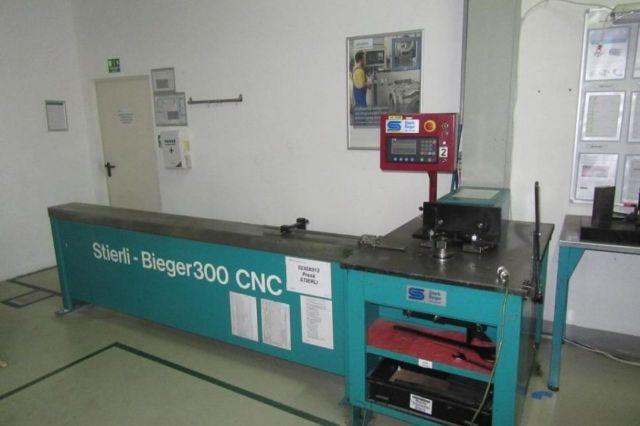 Profile Bending Machine Stierli Bieger 300 CNC 2001