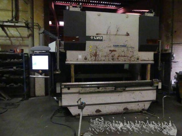 Prasa krawędziowa hydrauliczna CNC LVD PPEB 80 T x 2500 2010