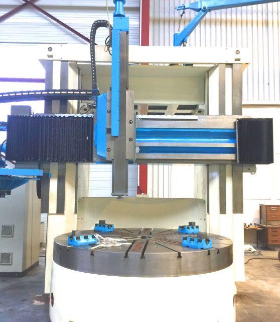 Tokarka karuzelowa Verticale 2500 mm 2500 CNC 2015