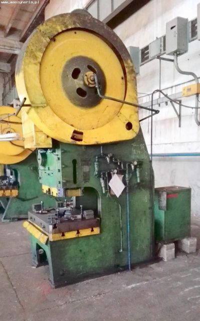 Eccentric Press ZAMECH PMS 160 A 1965