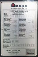 CNC Hydraulic Press Brake AMADA HFE M2 1270 x 50 T 2011-Photo 5