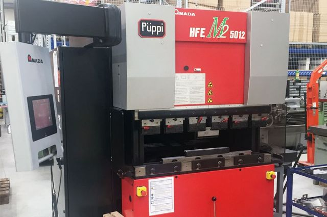 CNC Hydraulic Press Brake AMADA HFE M2 1270 x 50 T 2011