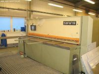 Cisaille guillotine hydraulique NC Safan HVR 310-8 TS