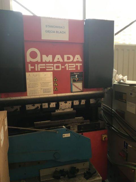 CNC Hydraulic Press Brake AMADA HF50 2009
