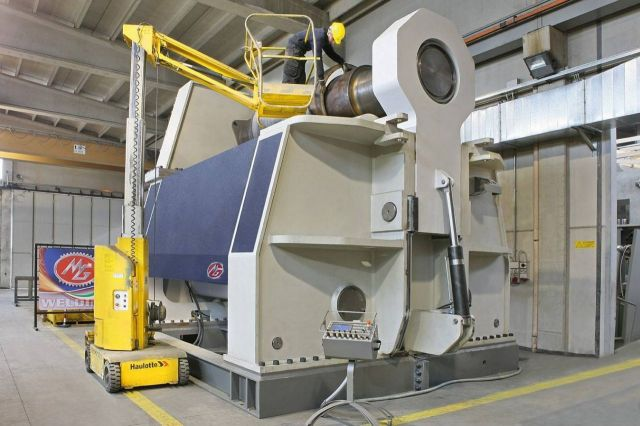 3 Roll Plate Bending Machine MG Italy MG 3160 3100 mm x 140 mm 2017