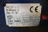 4 Roll Plate Bending Machine FACCIN 4HEL 3166 2004-Photo 4