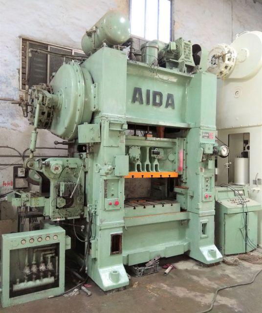 Výstredníkový lis AIDA JAPAN PDA-15H 2000