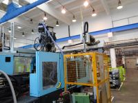 Plastics Injection Molding Machine DEMAG erGotech 125-320 System 1997-Photo 4