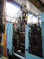 Plastics Injection Molding Machine DEMAG erGotech 125-320 System 1997-Photo 7