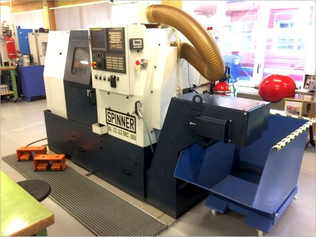 CNC Lathe SPINNER TC52-V2-MC 2006