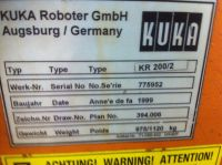 Welding Robot KUKA KR 200/2 1999-Photo 7