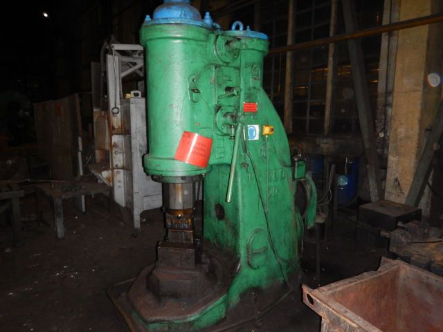 Single Frame Forging Hammer F.U.K Elbląg MS-200 1961