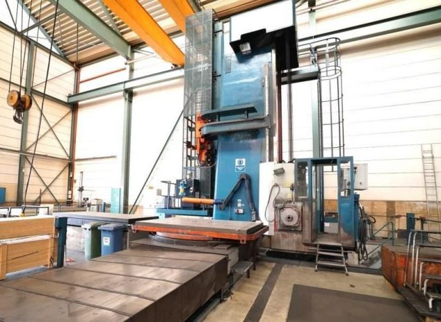 Horizontal Boring Machine Skoda E 25 Rotary Table Skoda E 25 2000