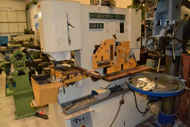 Punching Machine GEKA HYDRACROP 100 S 1990
