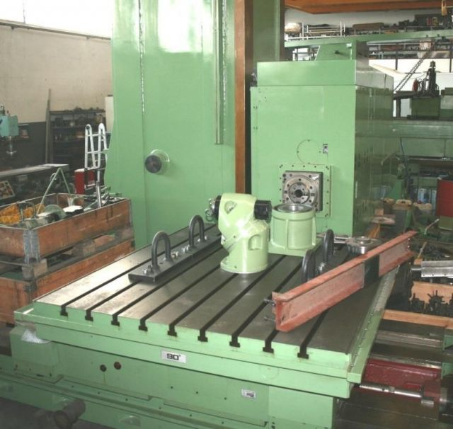 Horizontal Boring Machine PAMA Horizontal Boring 160 CNC  Floor Type Machine 2009