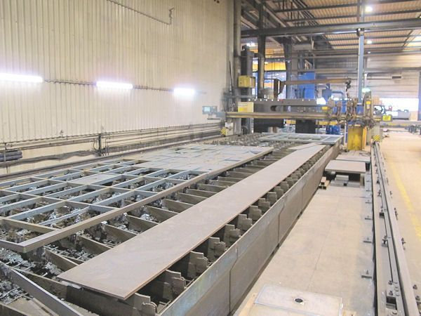 Gas Cutting Machine ESAB Suprarex  SXE P 5500-12.000 2001