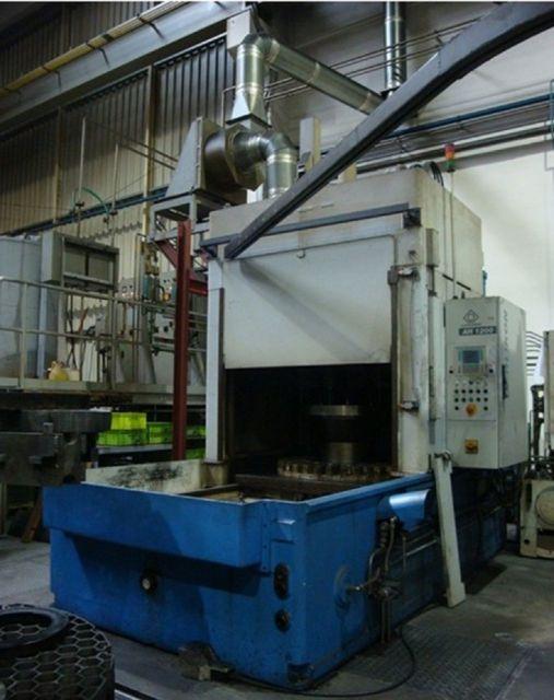 H Frame Hydraulic Press KLINGELNBERG AH 1200 2008