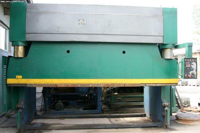 Prasa krawędziowa hydrauliczna ESPE CTO 250/4000 1997