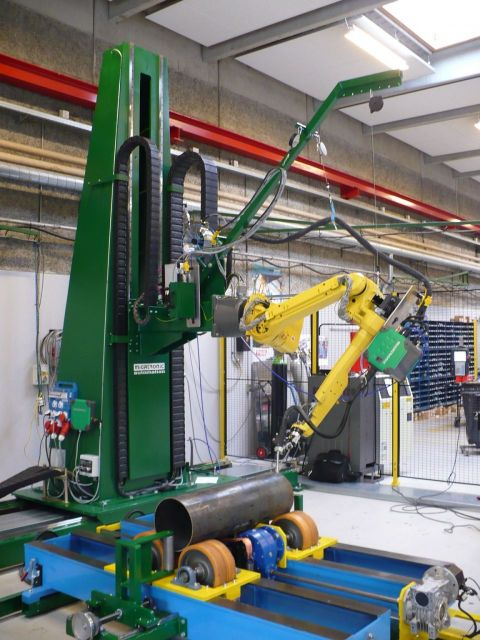 Seam Welding Machine MIGATRONIC FANUC AM 120 IC/10L 2009